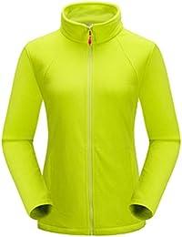Fleecejacke Outdoor Herren Winter Warm Full Zip Fleece Damen Gefüttert Ski Jacke Sport Mantel Winddicht