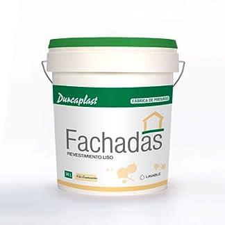 PINTURA FACHADAS Petrea lisa-60 Durcaplast: Revestimiento de fachadas color blanco mate. Extraordinaria resistencia al roce, máxima resistencia a la intemperie y al envejecimiento.