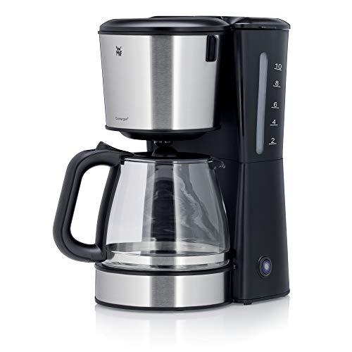WMF Bueno Pro Kaffeemaschine mit Glaskanne, Filterkaffee, 10 Tassen, Start-/Stopptaste, Tropfstopp, Schwenkfilter, Abschaltautomatik, 1.000 W