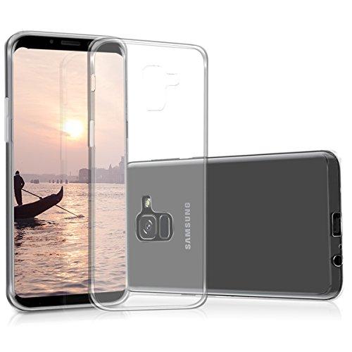 kwmobile Samsung Galaxy A8 (2018) Hülle - Handyhülle für Samsung Galaxy A8 (2018) - Handy Case in Transparent