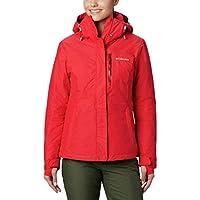 Columbia Alpine Action Chaqueta OH Ski de esquí, Mujer, Rojo (Red Lily 658), S