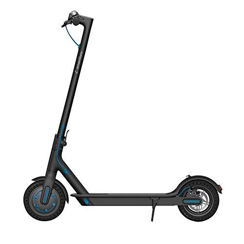 """SmartGyro Xtreme City Black - Patinete Eléctrico, APP, Ruedas 8,5"""" macizas, Potente, Velocidad 25 Km/h, Autonomía 20 Km, Batería de litio LG 7.8 Ah, freno de disco, Scooter Eléctrico, Color Negro"""