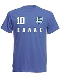 T-Shirt Ringer Schottland ALL-10 Navy WM 2018 Trikot Fußball Scotland