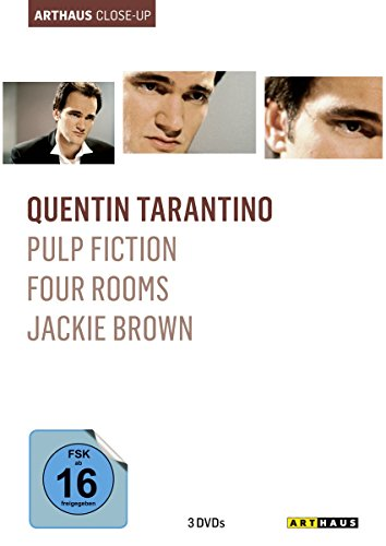 Quentin Tarantino Arthaus Close-Up (Pulp Fiction/Four Rooms/Jackie Brown) [3 DVDs]