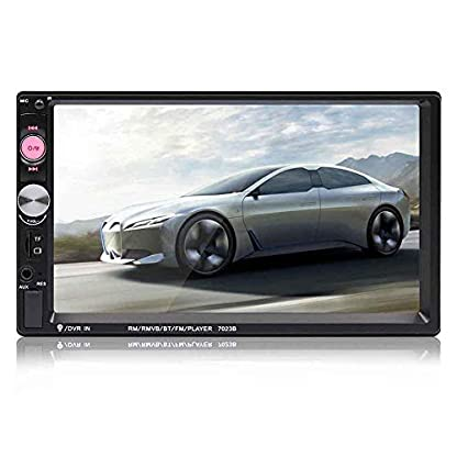 Miss-an-Spieler-7-Portable-Doppel-2-Auto-Stereo-Audio-Bluetooth-Touch-MP5-Player-USB-FM-Radio-Empfnger