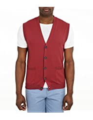 Wool Overs Gilet sans manches basique homme