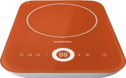 Samsung CTN431SC0R O'Table portables Induktionskochfeld / Breite: 27.4 cm rubinrot