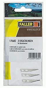 Faller f170682-Modelismo ferroviario-Elemento de iluminación y de señalización-Cuchillas de Repuesto