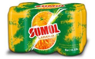 Sumol - Canette Orange 6 X 33 Cl
