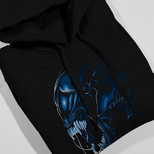 Aliens Alien Queen Women's Hooded Sweatshirt Black