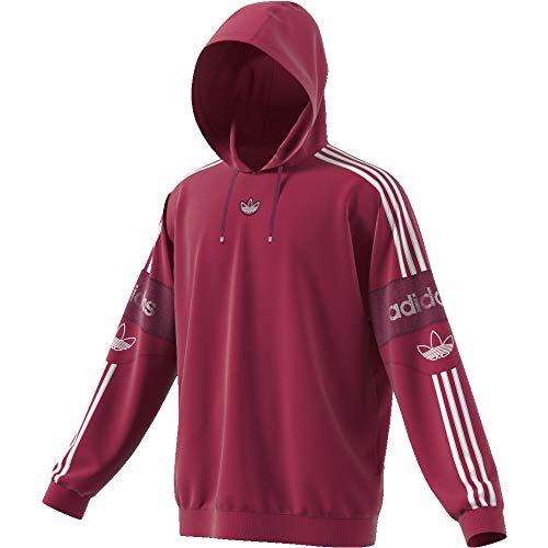 adidas TS Trefoil Sweatshirt pour Homme L Mystery Ruby F17