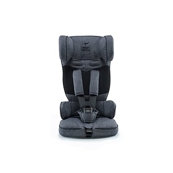 Urban Kanga Uptown Portable and Foldable Travel Car Seat Group 1 | 9-18 Kg (Grey Denim)  FOLDABLE PORTABLE TRAVEL CAR SEAT - Universal Group 1. Suitable for children weighing 9-18 Kg. (20 to 40 LB.) SAFE - Tested and certified to meet ECE R44/04 EUROPEAN SAFETY STANDARD LIGHTWEIGHT - Weighs only 3 KG! Fits in most standard suitcases. Carry bag included! 3