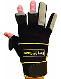 Specialist (Fold-Back Finger Tips) Magnet Gloves - Ideal for Shooting, Fishing, Gardening, Photography, DIY & Work Wear