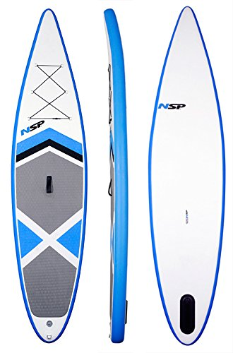 NSP 12'0'' Inflatable Stand Up Paddle Surfboard Set