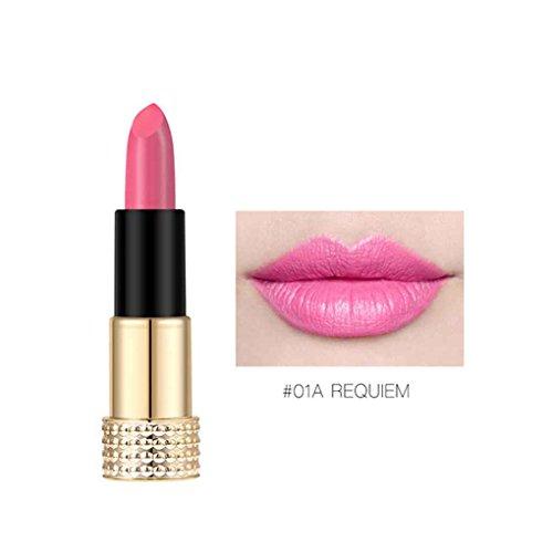 LUFA O.TWO.O 12 couleurs brillant à lèvres imperméable à l'eau mat longue durée liquide rouge à lèvres non-bâton lèvres maquillage des lèvres