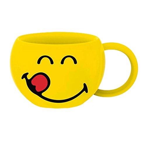 Zak! designs 6727-006 Smiley-Délicieux mug Jaune