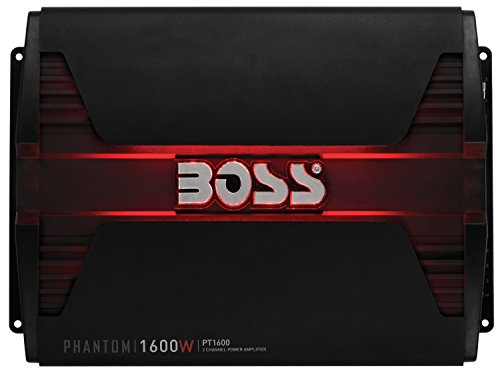 BOSS AUDIO PT1600 Phantom 1600 W 2 Kanal, Klasse-A/B-Verstärker
