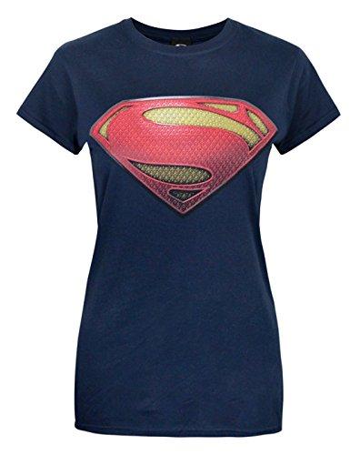 official-superman-man-of-steel-womens-t-shirt-m