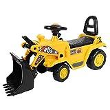 Zerone Trattore per Giocattoli Escavatore Elettrico, Scavatrice Giocattolo Trattore Autocarro Giocattolo per Bambini