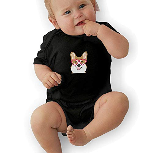 Welsh Kostüm Boy - Bodys & Einteiler,Babybekleidung, Baby one-Piece Suit,Baby Jumper,Pajamas, Baby Boy Bodysuit, Welsh Corgi Organic Baby Toddler Bodysuit Baby Clothes