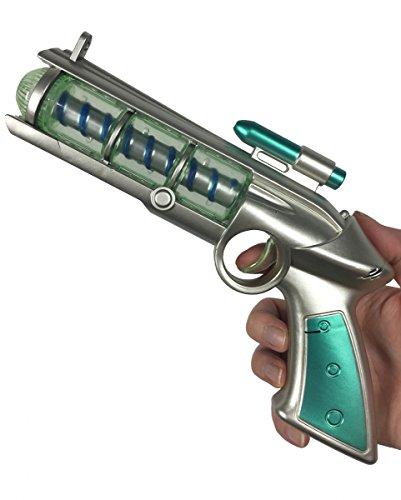 Preisvergleich Produktbild LED Spinning Orb Phazer Gun mit Licht & Sound 24cm für Fasching