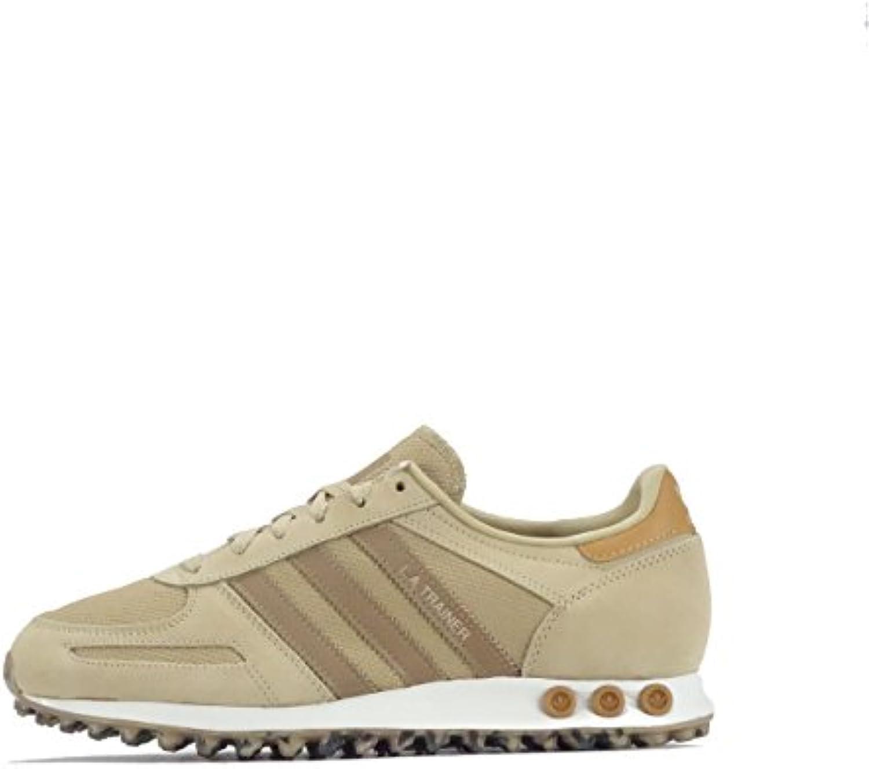 Adidas CM7182 - Zapatillas de Malla para Hombre Linen Khaki/Cardboard Brown 44 EU