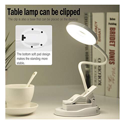 LCLrute 2019 Schreibtischlampe -USB-Fernbedienung wiederaufladbarer Sensor LED Schreibtisch-Augenschutz-Tischleselampe -
