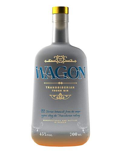 WAGON 22 - Transsibirischer Premium Gin aus Russland - 22 Botanicals - 45{47971fbd1b5f92be7d1b5504b1acc8d8ad164f0d60972b680794d6bd29cf1d06} - 700ml