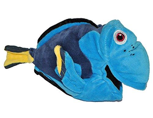 Plüschtier blauer Fisch
