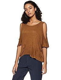 e992de623b50b2 Forever 21 Women s Plain Regular Fit Rayon Shirt