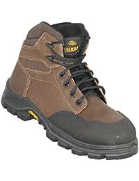 réduction offres Aimont - Chaussures De Protection Gris Clair Gris Homme En Cuir (ral 7035) Gris Taille: 40 à vendre dvT8p06gS