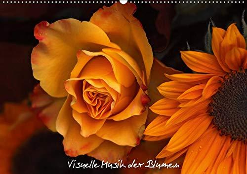 Florales Sonett - Visuelle Musik der Blumen (Wandkalender 2020 DIN A2 quer): Impressionen Makrofotografie - BLUMEN (Monatskalender, 14 Seiten ) (CALVENDO Natur) Floral Musik
