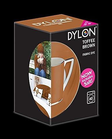 Dylon Machine Colorant 350g Brun Caramel au Beurre, Sel