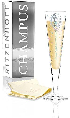 Ritzenhoff CHAMPUS Jahrgangsglas 2018 Kathrin Stockebrand / Champagnerglas / Sektflöte