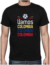 Green Turtle T-Shirts Camiseta de Tirantes Hombre - Vamos Colombia! Apoya a la Selección Colombia en el Mundial!