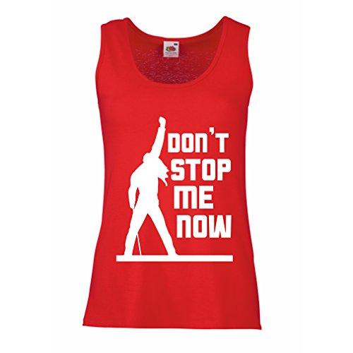Stop me! Fan shirts, musiker geschenke, rock kleidung (Medium Rot Mehrfarben) (Besten Moderne Halloween-songs)