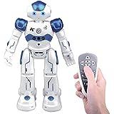 Kuman Remote Control Rc Robot Toy Gift, Smart Robotics Kits Walking Sing Dancing Programmable And Gesture Sensing For Children Kids Entertainment KR2