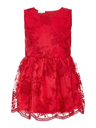 ädchen Kleid mit Spitze & Tüll 13159180 Jester red Gr.122 ()