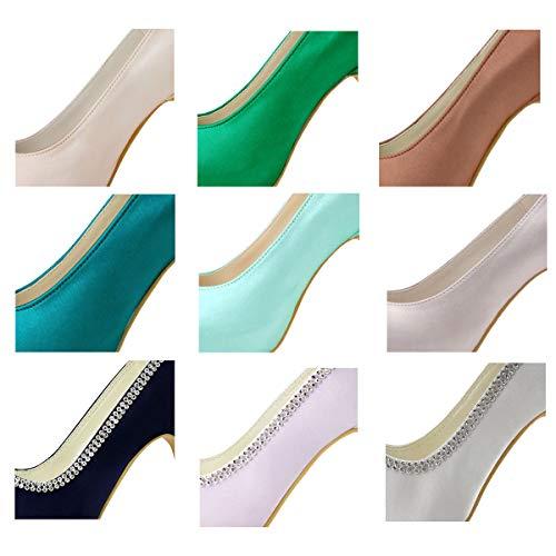 Elegantpark tassa pagare extra per personalizzare il colore di scarpe da donna da sposa