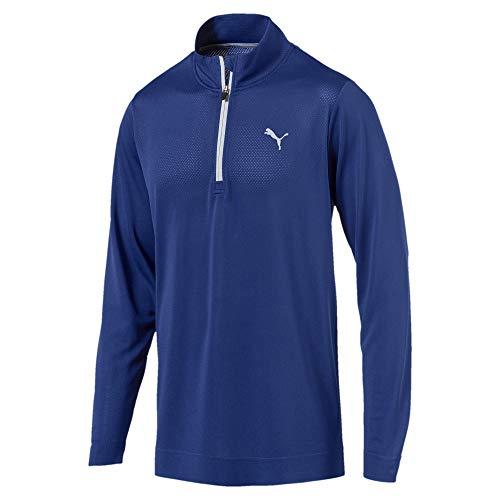 Preisvergleich Produktbild Puma Golf Herren Evoknit Essential 1 / 4 Zip Sweatshirt Sodalite Blue XL