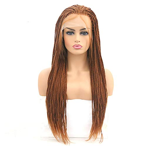 Scorpion Haar Perücke Kopfbedeckung halbe Hand Haken Chemiefaser vordere Spitze Rollenspiel Partei, 22 Zoll (Frau Kostüm Elvis)