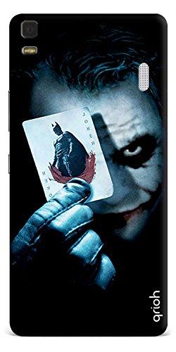 Qrioh Printed Designer Back Case Cover for Lenovo K3 Note - Joker Hunt Case