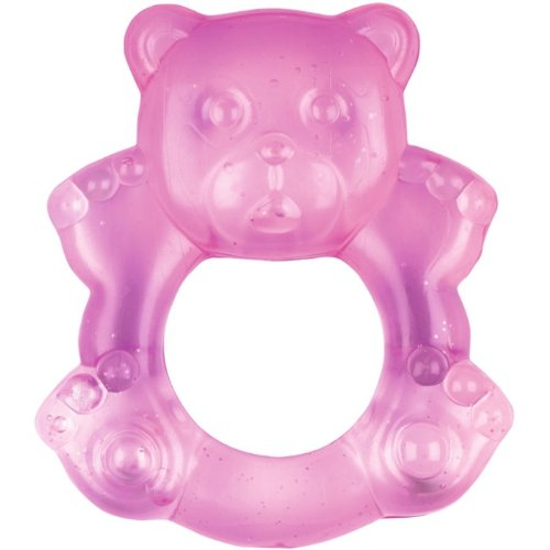 Baby Charms Teething Ring, Pink, Model# 11149 41KyHg 2BNXkL