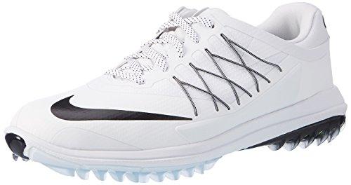 Nike Herren Lunar Control Vapor Golfschuhe, Weiß (White/Black), 44.5 EU