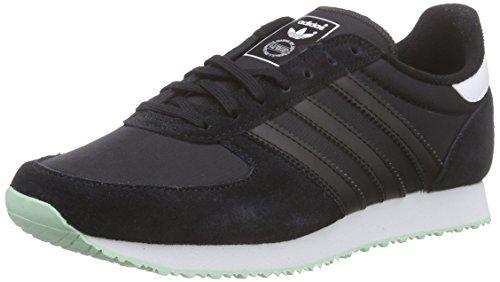 adidas Originals Zx Racer, Baskets Basses Femme, Mehrfarbig, 41 EU Noir - Schwarz (Core Black/Core Black/Ftwr White)