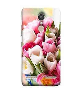 Takkloo gift of nature pink flowers,white flowers, beautiful bookey) Printed Designer Back Case Cover for Lenovo K6