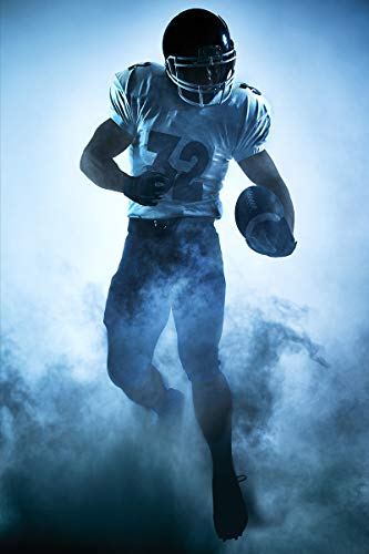 Postereck - Poster 2475 - NFL- Spieler, Football Sport USA Amerika Spiel Rugby Größe 4:3-81.0 cm x 61.0 cm - 3/4-rugby