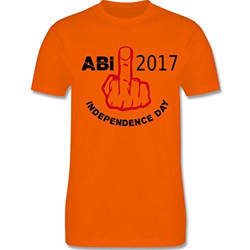 Abi & Abschluss - Independence Day - Abi 2017 - Herren Premium T-Shirt Orange