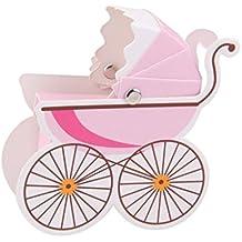 Jooks bebé Ducha favorece Carrito Forma Papel Candy Dulces Cajas de Regalo Boda Favor Cajas para