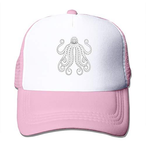 Bgejkos Octopus Men Women Sports Hat Cap Golf Cap Running Tennis Cap Womens Brown Tweed